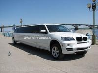 Лимузин BMW X5 Белый 15 персон